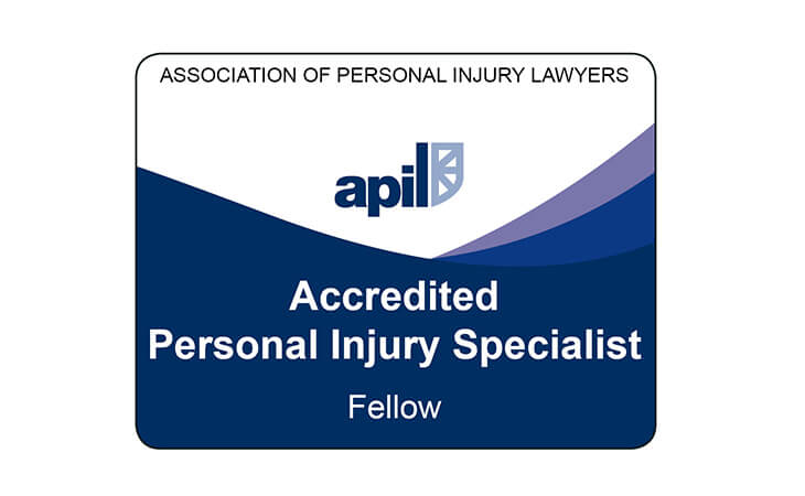 Association of Personal Injury Lawyers - Accredited Personal Injury Fellow