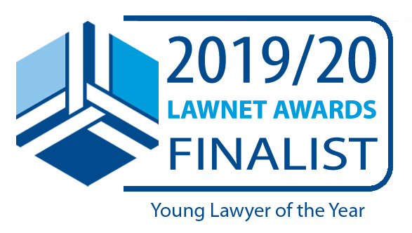 2019 Young Lawyer of the Year Finalist