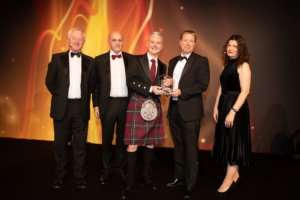 Ashtons being presented with Law Firm of the Year award