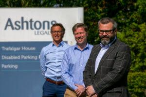 L-R: Ben Hallatt, Ed O'Rourke, Tom Bailey