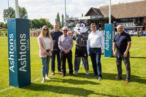 Photo - Bury St Edmunds RUFC post-protector sponsorship